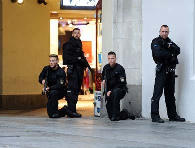 La Polic�a alemana cree que varios atacantes de Munich se dieron a la fuga