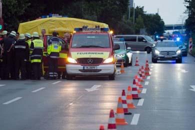 As� registraron en redes sociales el tiroteo en Alemania