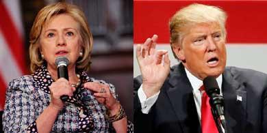 Trump toma la delantera frente a Clinton seg�n nuevo sondeo