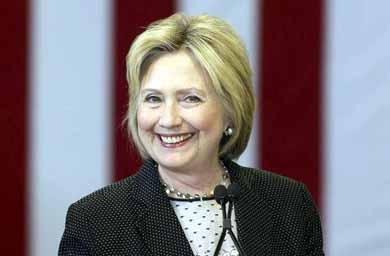 Hillary Clinton candidata dem�crata a la Casa Blanca
