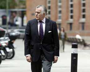 B�rcenas pide que declaren como testigos Acebes, Rato, �lvarez Cascos, Arenas y Mayor Oreja