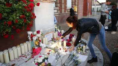 Mariano Rajoy, conden� este martes el asalto a una iglesia en el norte de Francia