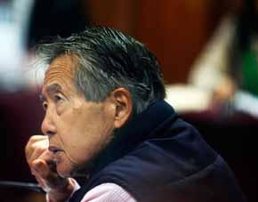 Ex presidente de Per�, AlbertoFujimori