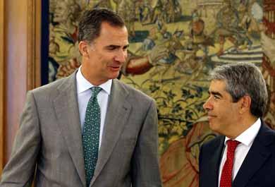 Nacionalistas reiteran al rey de Espa�a su negativa a Mariano Rajoy