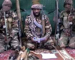 Terroristas de Boko Haram