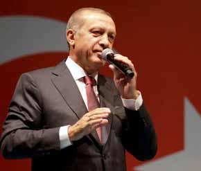 Erdogan quiere reducir al m�nimo las diferentes instituciones del estado turco