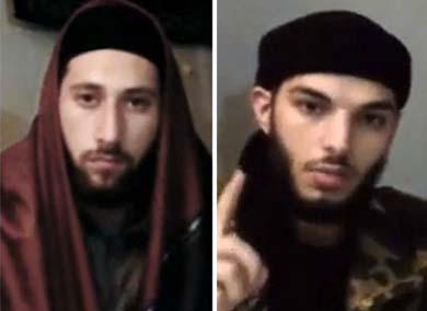 Abdel Malik Nabil Petitjean y Adel Kermiche, responsables del ataque.