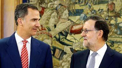 El rey Felipe VI de Espa�a encarg� a Mariano Rajoy intentar formar un nuevo gabinete en medio de la fragmentaci�n.