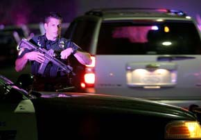 Nuevo tiroteo en Estados Unidos deja un polic�a muerto y otro herido