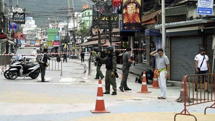 Tailandia sufrió 10 ataques con bombas en las zonas turísticas