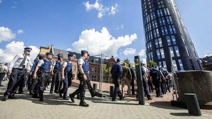 Arrestadas tres personas y registradas viviendas en Bruselas por terrorismo