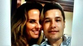 Kate del Castillo junto a Jes�s Alfredo Guzm�n Salazar, hijo del capo Joaqu�n El Chapo Guzm�n.