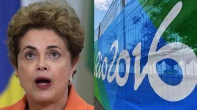 Dilma Rousseff, la suspendida presidenta  de Brasil.