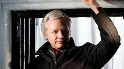 Juli�n Assange, se encuentra refugiado en la embajada de Ecuador en Londres desde hace 4 a�os...