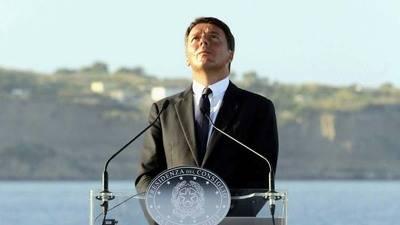 Primer Ministro de Italia Matto Renzi