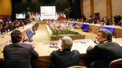 Los cancilleres de Argentina, Brasil y Paraguay se pronunciar�n en los pr�ximos d�as sobre la autoproclamaci�n de Venezuela como presidente pro tempore del Mercosur