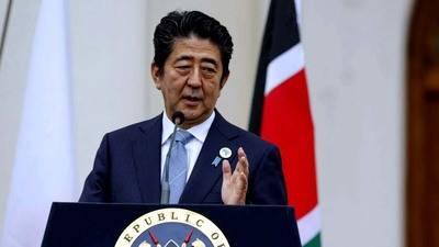 El primer ministro Shinzo Abe