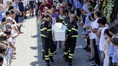 Funeral de estado por las v�ctimas del se�smo en Italia