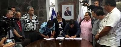 Rapa Nui recuperar� administraci�n de Parque Nacional tras convenio