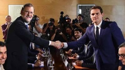 PP y Ciudadanos firman pacto para formaci�n de Gobierno en Espa�a