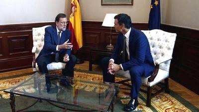 Mariano Rajoy-Pedro S�nchez, un di�logo