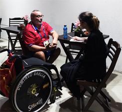 Se puede hablar sin palabras: Domingo García