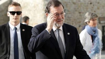 Mariano Rajoy, presidente del PP y del gobierno en funciones