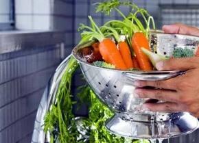 Cuide la higiene de los alimentos para prevenir infecciones bacterianas