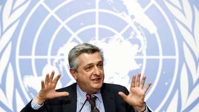 El representante en M�xico del Alto Comisionado de las Naciones Unidas para los Refugiados (Acnur), Mark Manly.