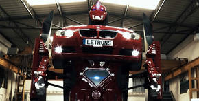 Letrons: un Transformer REAL a partir de un BMW