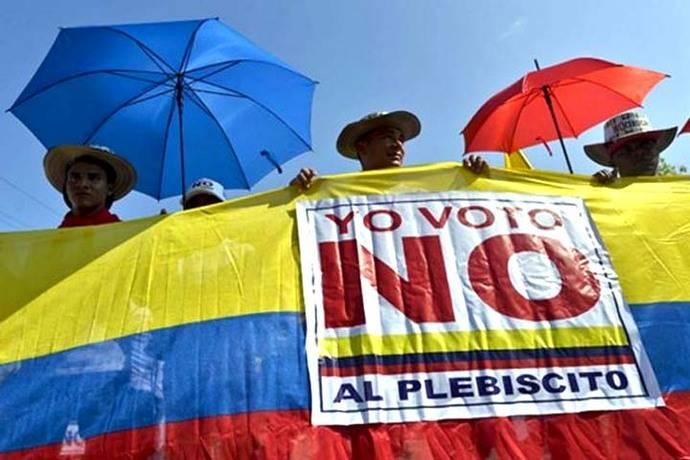 """Colombia dijo """"No"""" al acuerdo de paz con las FARC"""