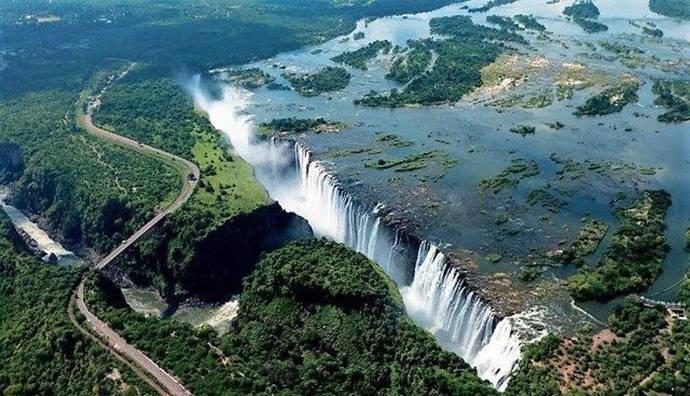 Las Cataratas Victoria, maravilla natural de África