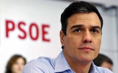 Pedro S�nchez de momento, guarda silencio...