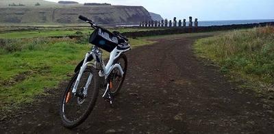 Rapa Nui ahora se recorre en bicicleta