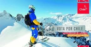 Apoya con tu voto a Chile. como el mejor destino de turismo aventura del mundo