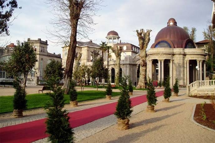 El Balneario de Mondariz lidera el ranking de los lugares preferidos para celebrar bodas en Galicia
