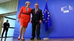 May dice a la UE que Reino Unido controlar� migraci�n