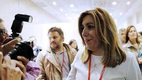 Susana D�az, Presidenta JJAA y l�der del PSOE en Andaluc�a.