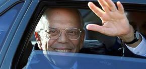 El ex presidente de Uruguay Jorge Batlle