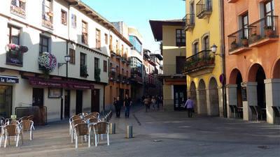 Ponferrada (León) donde se cruzan caminantes de Santiago y Templarios