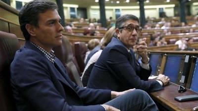 Pedro S�nchez en el Congreso como simple diputado