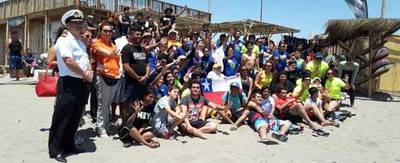 Sernatur participó en deportes inclusivos en Arica