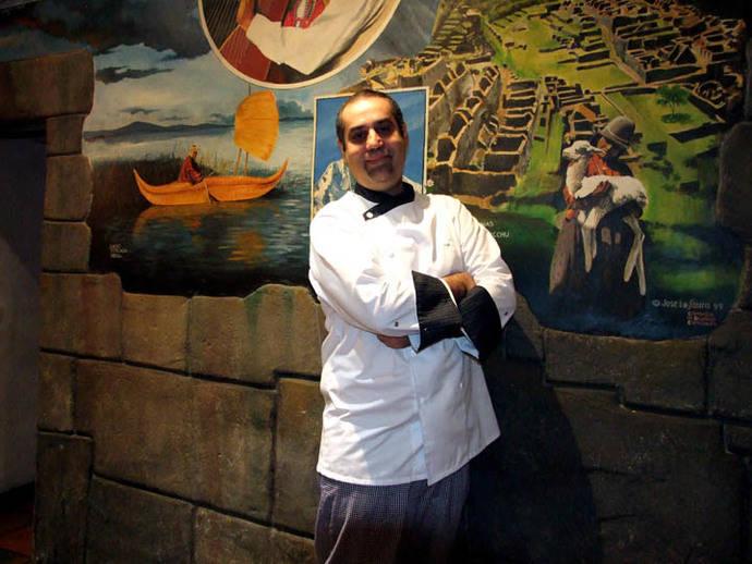Gonzalo Amorós Figueroa, responsable de la innovación gastronómica del restaurante
