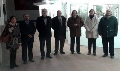 """Inauguración de la Exposición Itinerante de Pinturas """"CerVartes"""" en Molina de Aragón (Guadalajara)"""