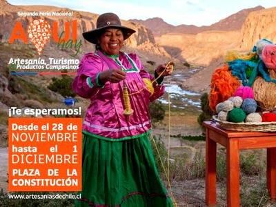 """Promoverán artesanía, turismo y productos campesinos en la II Feria """"Aquí Hay"""""""
