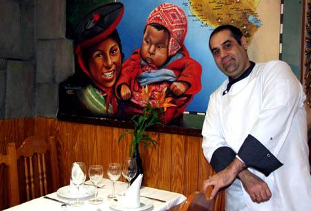 El Chef Gonzalo Amorós