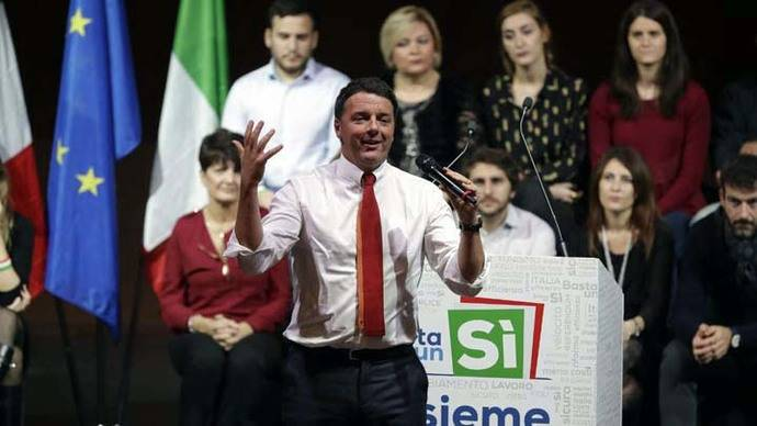La Unión Europea pendiente del referéndum italiano del próximo día 4 de diciembre