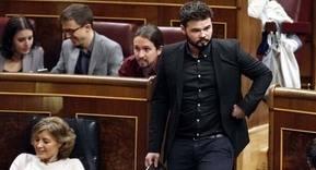 Gabriel Rufián, a Rajoy: