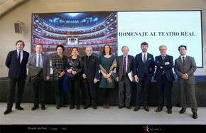Homenaje al Teatro Real en la Casa del Lector de Madrid