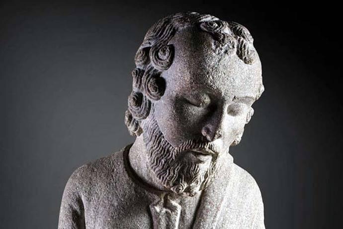 Esculturas del Maestro Mateo de Compostela en el Museo del Prado